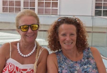 Donna Forsyth & Lynn Swani