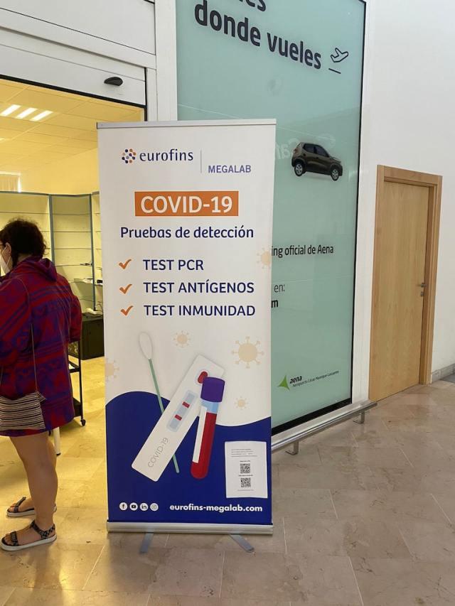 Covid test Lanzarote Airport