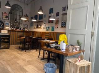Bar Strava Interior