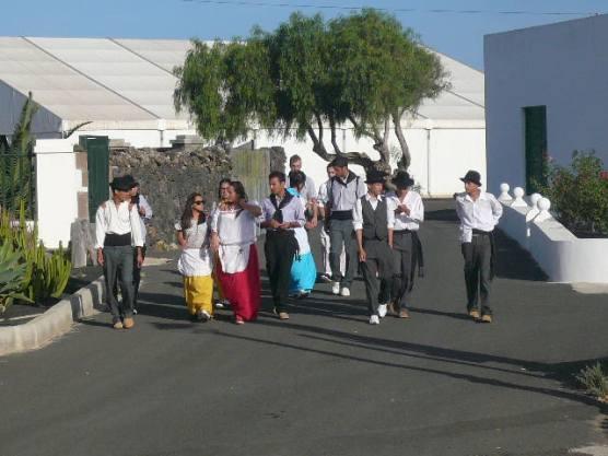 Por el callejon de El Terrero Uga Yaiza Isla de Lanzarote