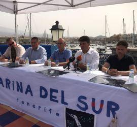 Presentación regata puertos canarios lanzarote sailing paradise