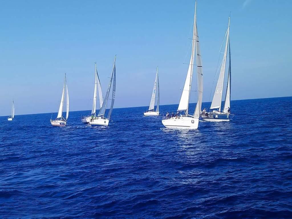 Salida regata puertos canarios-CICAR - Lanzarote Sailing Paradise