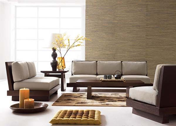 Japanese Style Living Room Furniture Lanzhome Com