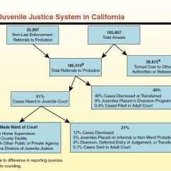 California Court System Diagram Auto Rod Controls 3700 Wiring The 2012 13 Budget Completing Juvenile Justice Realignment In Figure 1 Outcomes Of 2010 Arrests
