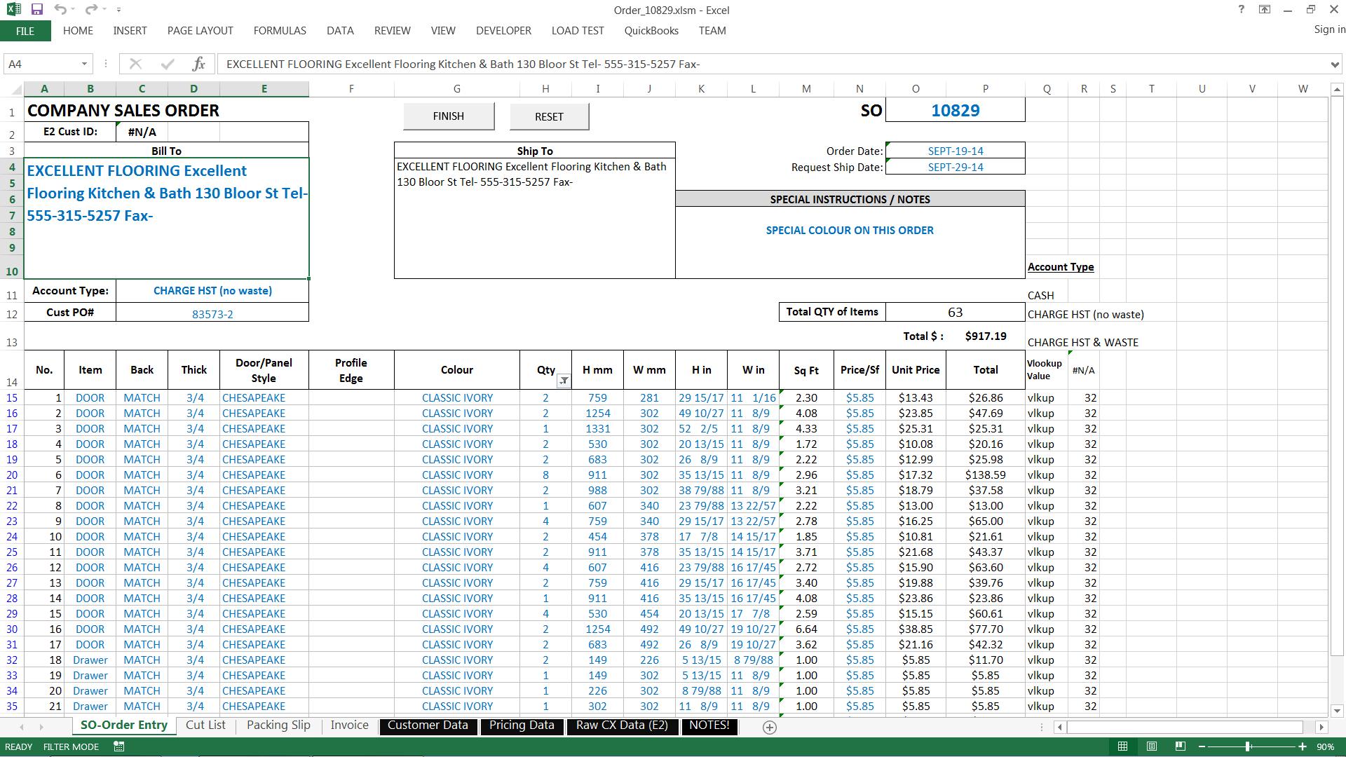 Po Tracking Spreadsheet | LAOBING KAISUO