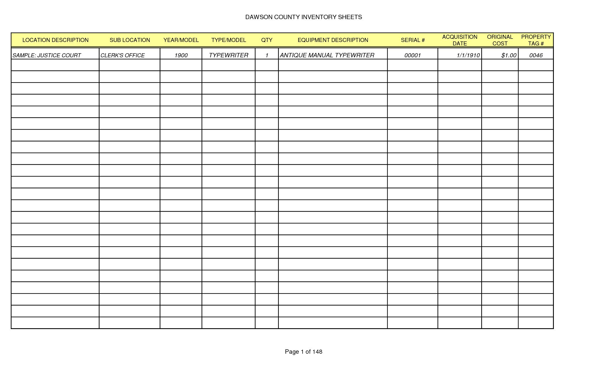 Free Liquor Inventory Software