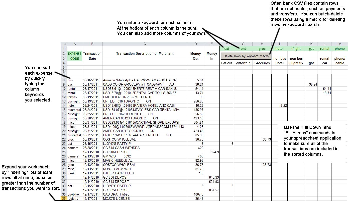 Free Excel Tax Worksheet