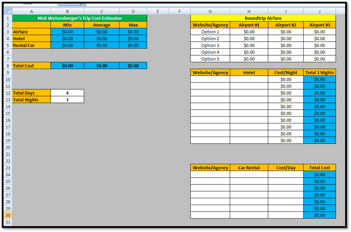 Comparing 2 Excel Spreadsheets For Differences