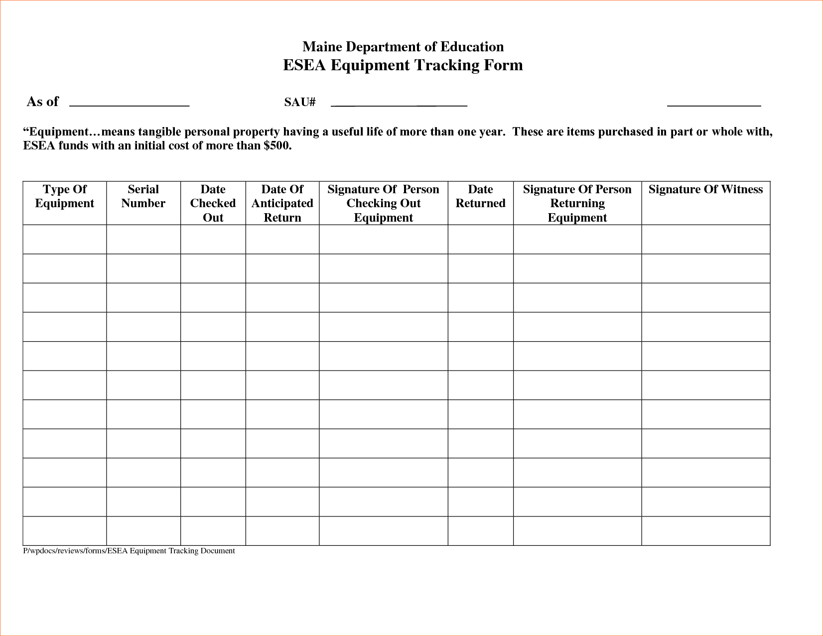 Worksheet Cost Date