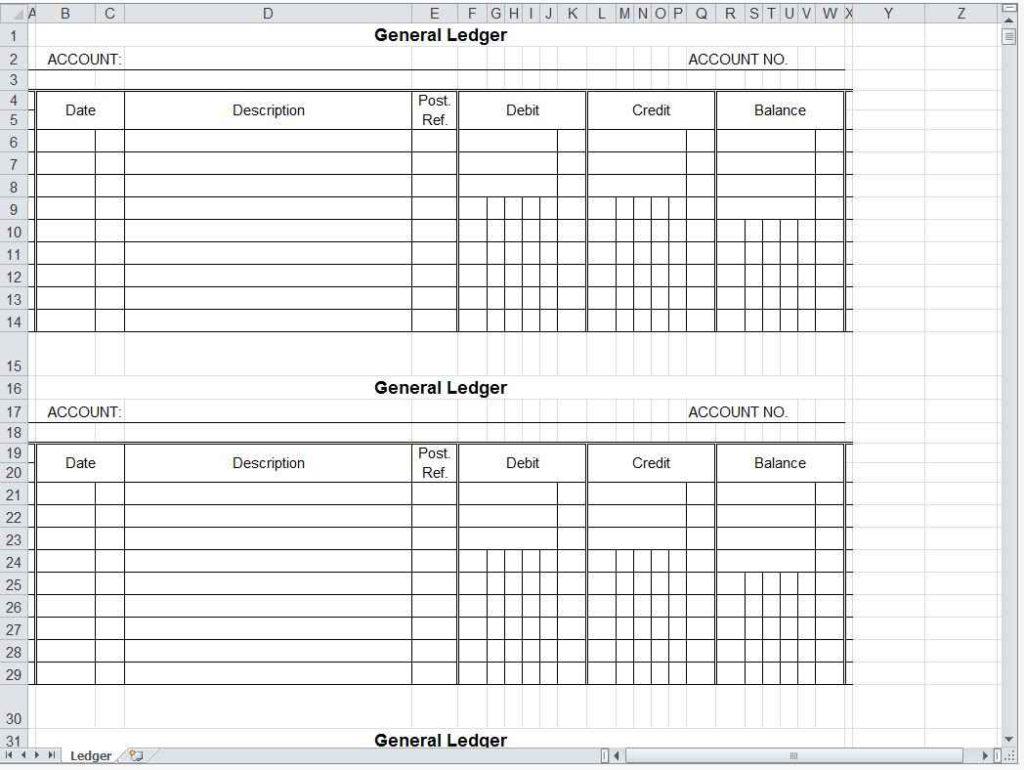Farm Accounting Spreadsheet