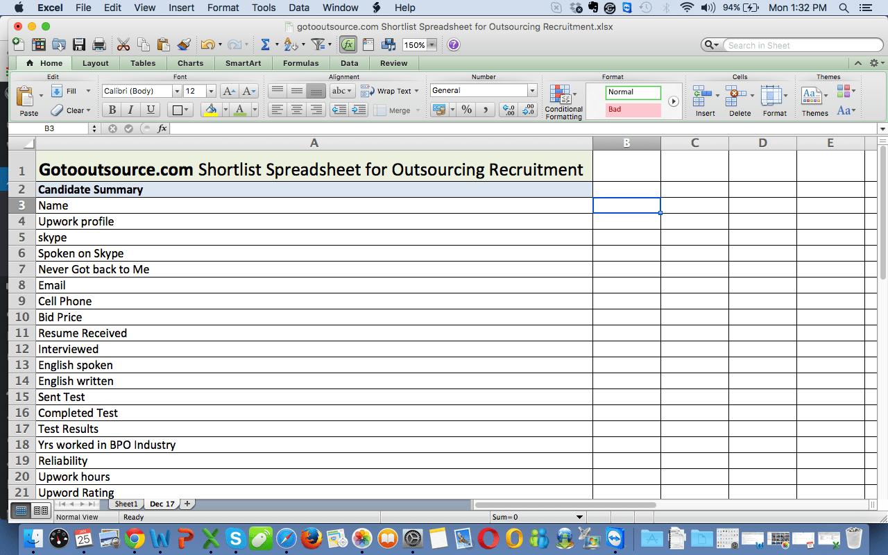 Excel Worksheet Practice Exercises | Printable Worksheets and
