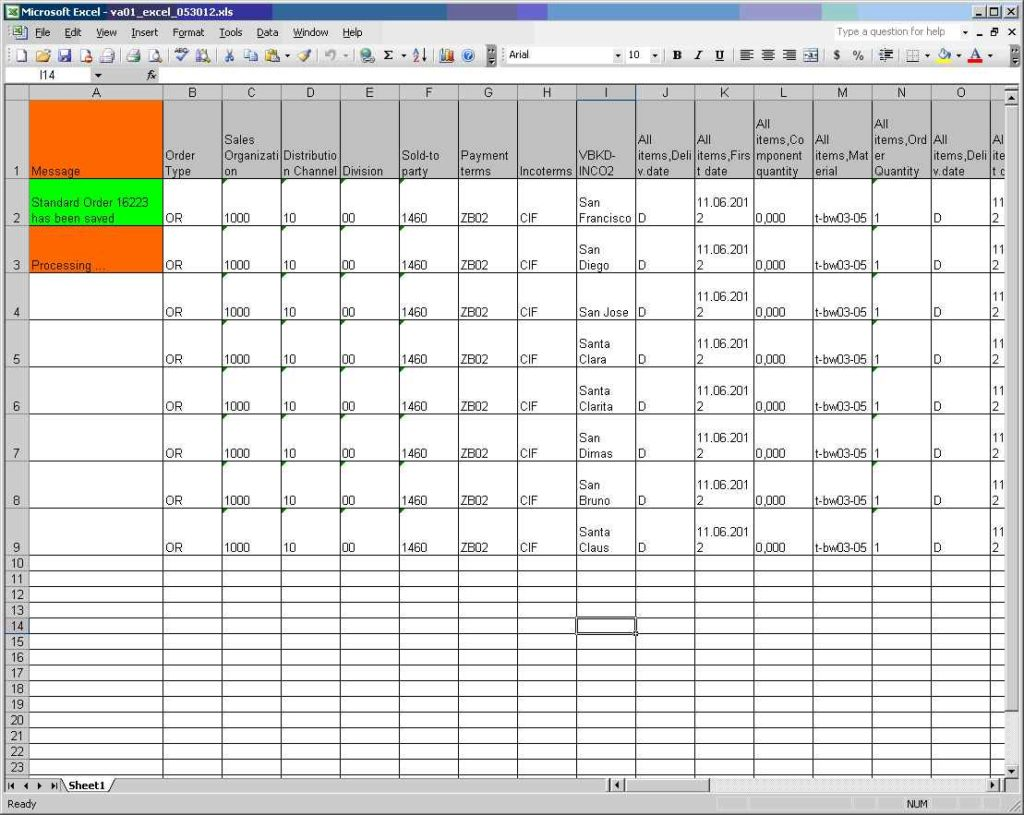 Real Estate Comparables Spreadsheet