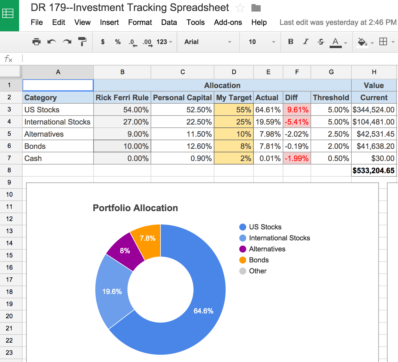 Free Time Tracker Spreadsheet Download