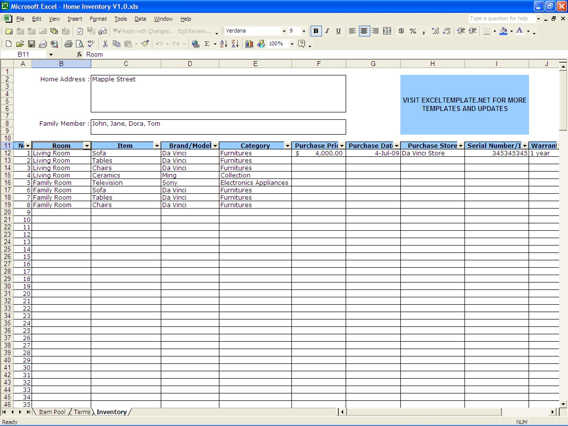 How To Do A Spreadsheet In Excel