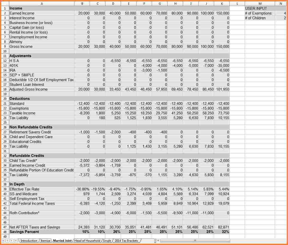 Retirement Financial Planning Spreadsheet