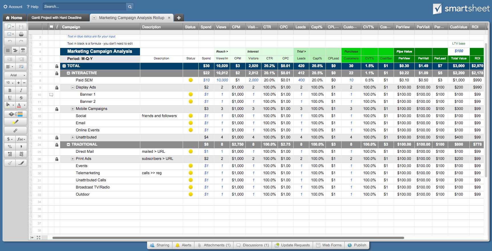 Contract Management Excel Spreadsheet