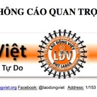 Thông Cáo Quan Trọng/Important Notification