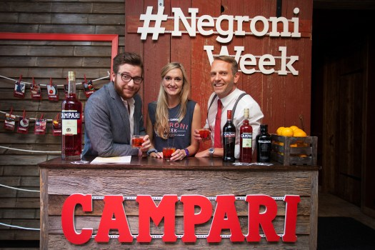 Negroni Week Kick Off Party at the Refinery Rooftop