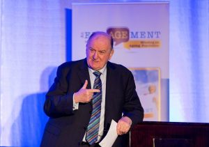 George Hook at An EngAGEment with Bluebird Care which comes to Portlaoise and Killarney later this month.
