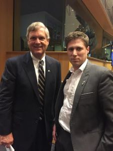 Carthy questions U.S. Agriculture Secretary on Beef & TTIP