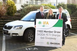 IFA and ŠKODA to Give Away 4X4 to One Lucky Member