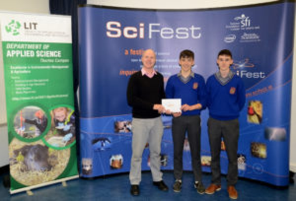 Borrisoleigh Students Participate In Regional Finals of SciFest