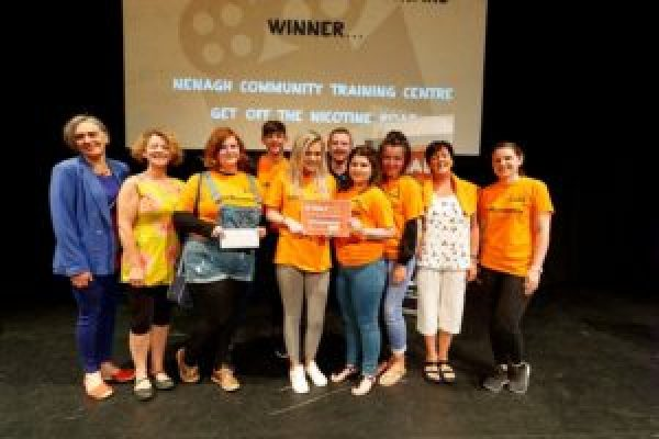 Nenagh Community Training Centre takes prize home to Tipperary from Irish Cancer Society X-HALE Youth Awards
