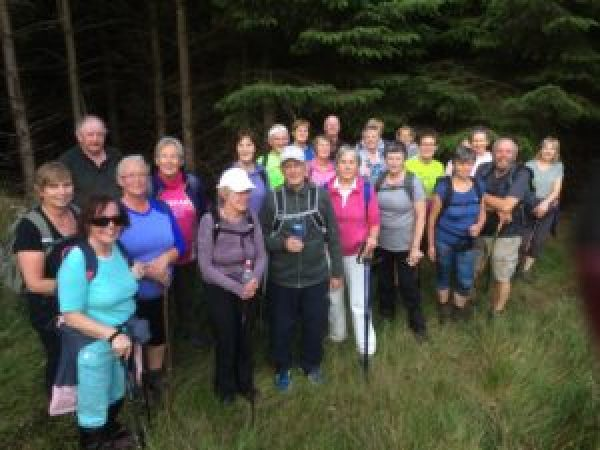 Mid Tipp Hillwalkers Autumn Charity Challenge Westport Co Mayo