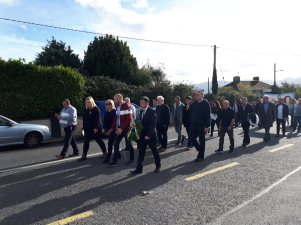 Sinn Fein Commemoration For Sean Treacy