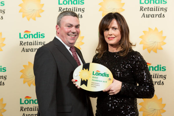 Laois Retailer Receives Top Honours at the 2018 Londis Retailing Awards