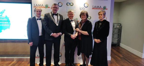 Silver Award for Zero Waste Cashel at the LAMA All Ireland Community & Council Awards 2019