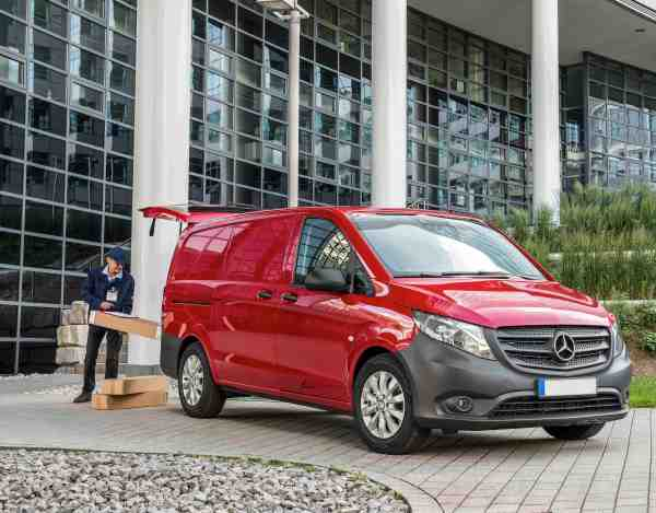 Ireland's Van Hero 2019 will be offered the free use of a new Mercedes-Benz Sprinter or Vito van for a full year