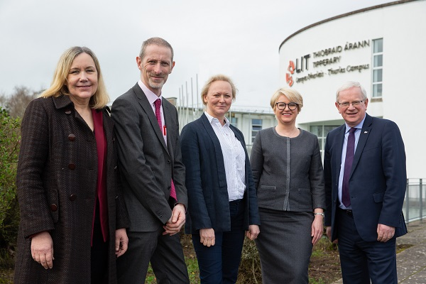 €4 Million Programme to Encourage Young People, who are Not in Employment or Education, back into the Work Place is Launched at LIT