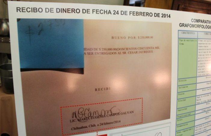 Dinero de recibos firmados por Maru iba a secretario del ayuntamiento | La Opción de Chihuahua