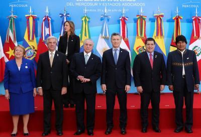 Con la presencia de cancilleres y jefes de estado, comenzó en Brasil la 51° Cumbre del Mercosur