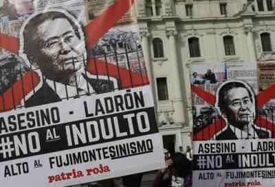 Perú se encuentra convulsionado por el indulto a Fujimori