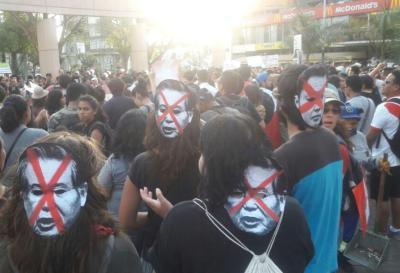 Perú:  se realizó otra multitudinaria marcha contra el indulto a Fujimori