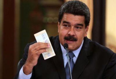 Venezuela: Maduro decretó aumento salarial y debuta el Bolívar Soberano