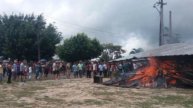 tension-por-la-situacion-de-inmigrantes-venezolanos-en-la-frontera-con-brasil