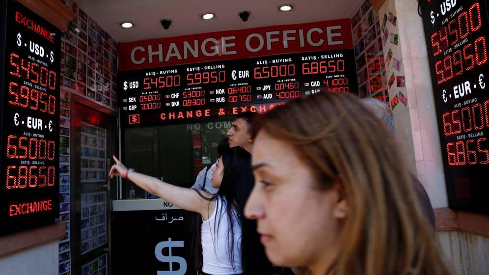 Crisis en Turquía: cómo el conflicto con EE.UU afecta a los mercados emergentes