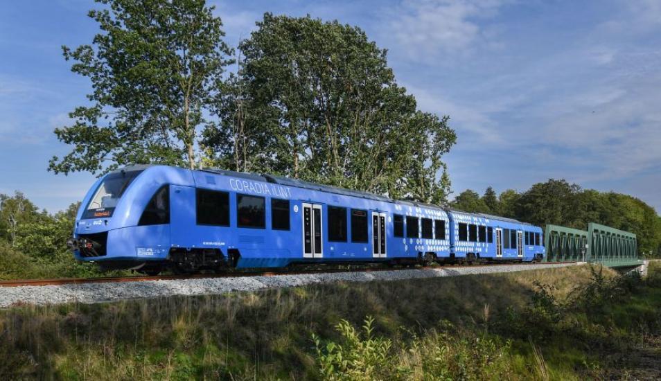 En Alemania comenzó a funcionar el primer tren a hidrógeno