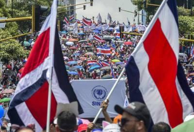 Costa Rica: los sindicatos iniciaron la cuarta semana de huelga