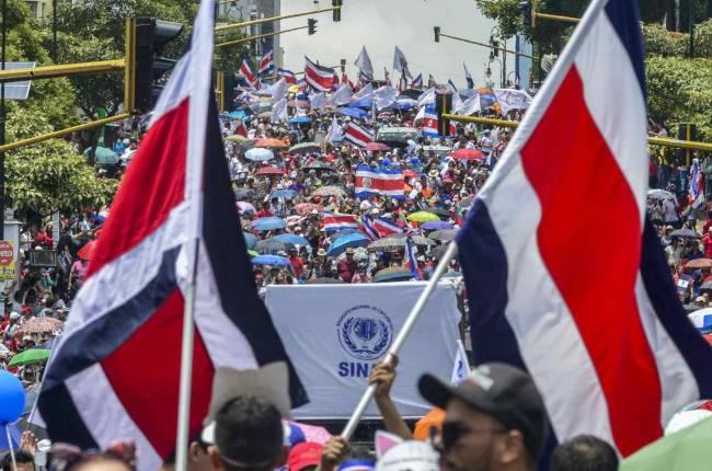costa-rica-los-sindicatos-iniciaron-la-cuarta-semana-de-huelga