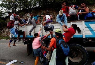 Caravana de migrantes: crisis humanitaria en Centroamérica