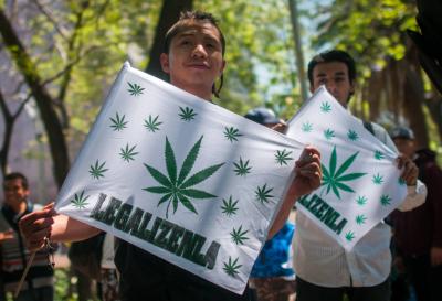 El partido de López Obrador presenta un proyecto para legalizar la marihuana