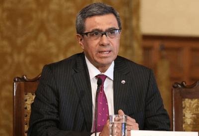 Ecuador: José Briones fue designado vicepresidente  en reemplazo de Vicuña