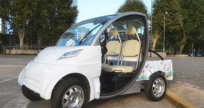 En Brasil presentaron el primer vehículo híbrido flex
