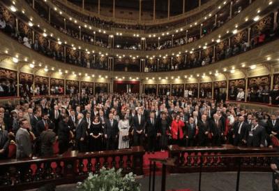 Argentina: el rey de España junto a otras personalidades participan del Congreso Internacional de la Lengua Española