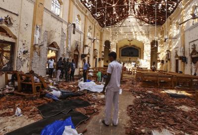 Sri Lanka: identifican a los autores de los atentados que dejaron al menos 290 muertos