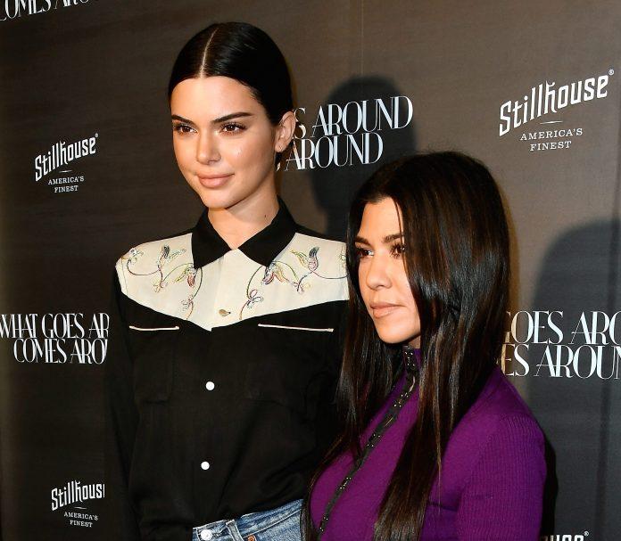 The former Kourtney Kardashian has conquered Kendall Jenner